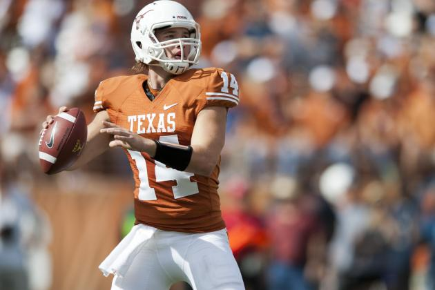 Longhorns Waiting to Name Starting QB