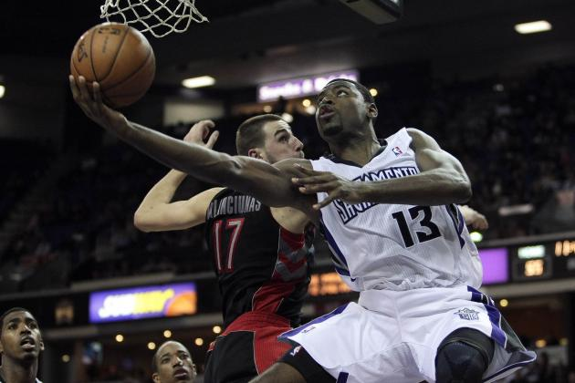Cousins, Evans Lead Kings Over Raptors