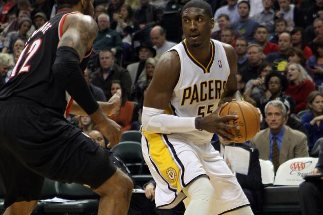 Roy Hibbert Hiked Up His Shorts to Hide Blood on His Jersey