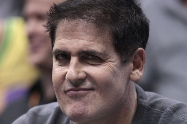 Mark Cuban Falls Asleep During the Clippers/Mavericks Game