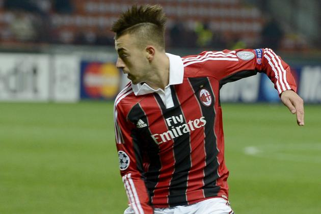 El Shaarawy-Niang Star in Milan Training Game