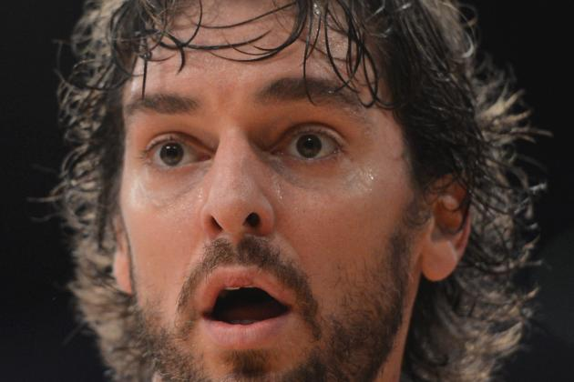 Report: Timberwolves' Offer for Lakers' Pau Gasol Rejected