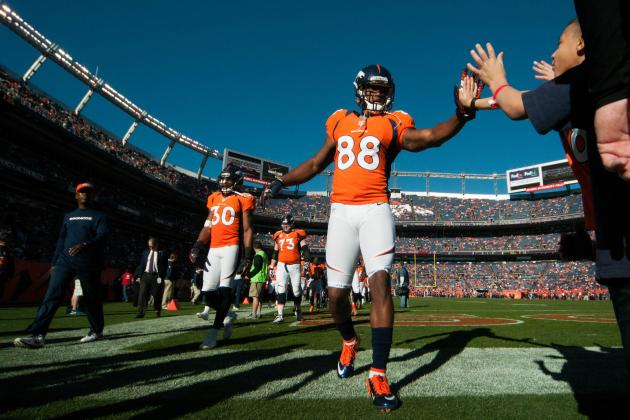 Broncos vs. Raiders: Fantasy Projections for Thursday Night Football