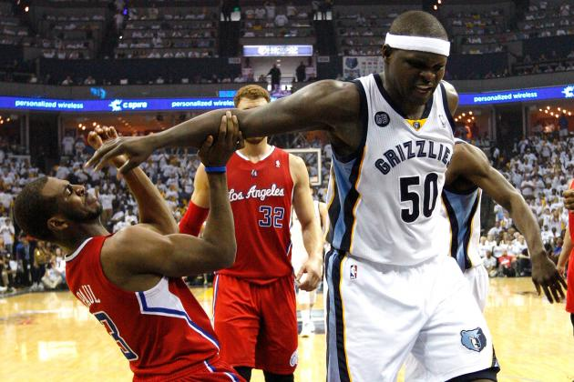 Grizzlies Stop Raptors, Keep Best Record in NBA