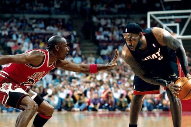 How LeBron Would Have Attacked Jordan in His Photoshopped Cell Phone Pic