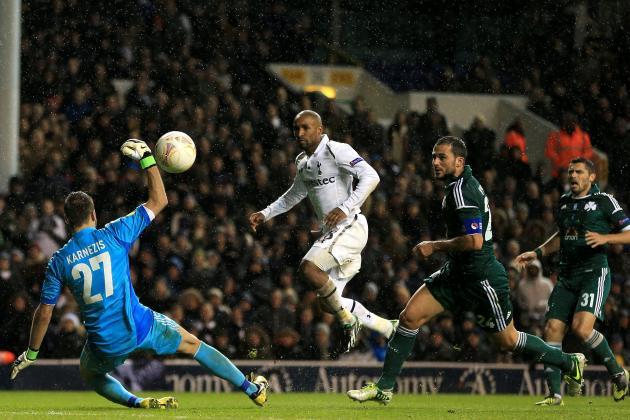 Tottenham Hotspur 3 Panathinaikos 1: Match Report