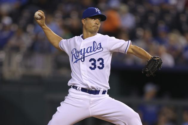 Kansas City Royals Projected Starting Pitching Rotation in 2013