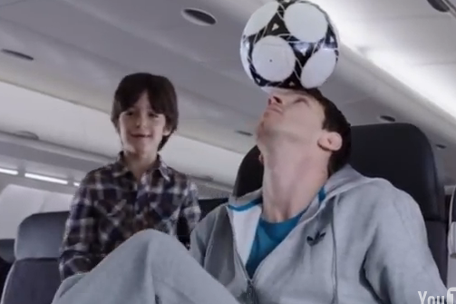 Messi vs. Kobe in New Commercial