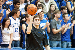 Duke's Zafirovski, Former Walk-On, Relishes His First Bucket