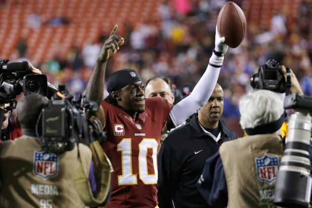 Washington Redskins: Awards After 3/4 of the 2012 Season