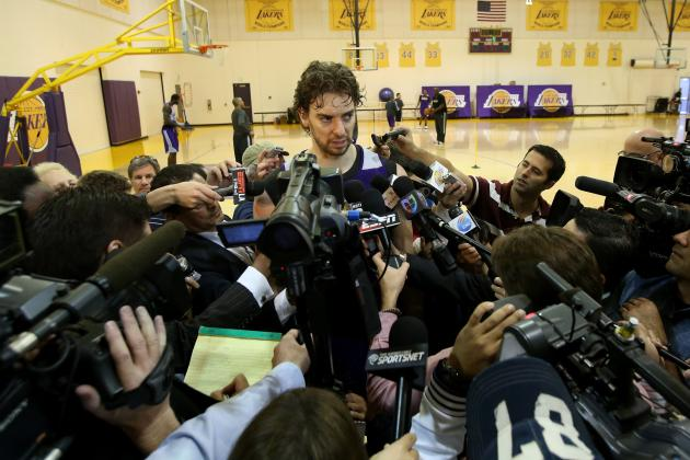 How the LA Lakers Are Setting the Trade Market for Pau Gasol