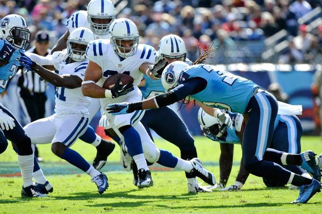 Titans vs. Colts: Spread Info, Line and Predictions