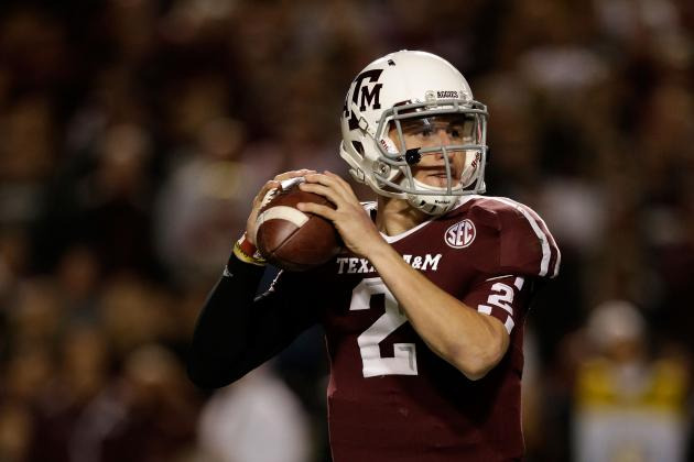 Johnny Manziel Named 2012 Davey O'Brien Award Winner