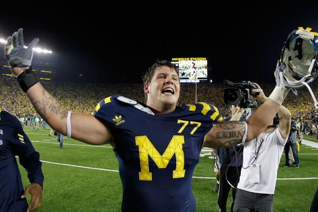 Taylor Lewan Named Walter Camp First-Team All-American