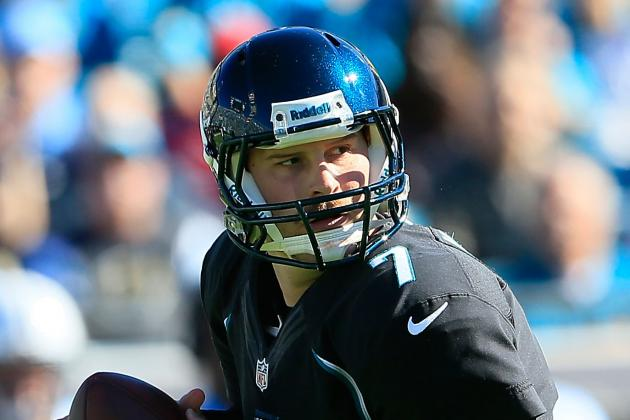 On Chad Henne Against Jets' Blitzes