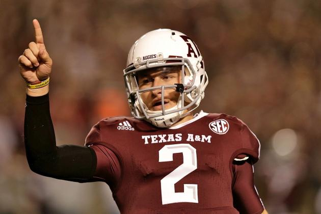 Heisman Trophy: Comparing Johnny Manziel with Tim Tebow, Cam Newton and RGIII