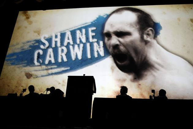 Dana White Talks Shane Carwin's Future and Relationship with Stephan Bonnar