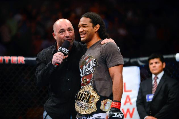 Benson Henderson Believes He Won't Get Caught Up in Nate Diaz' Trash Talk