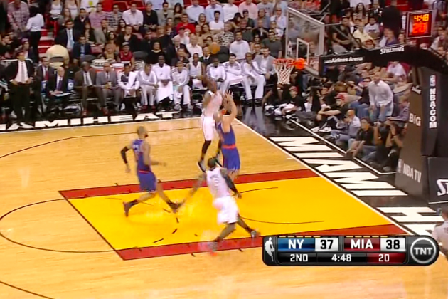 Dwyane Wade and LeBron James Have Perfected the Double Alley-Oop