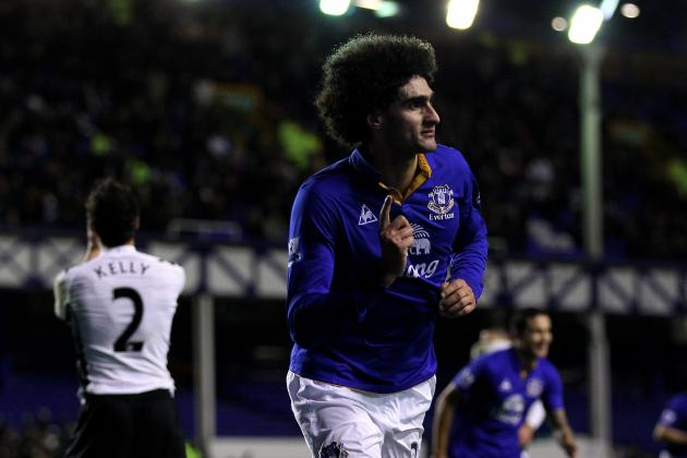 Everton FC: Marouane Fellaini's Evolution into a World-Class Talent