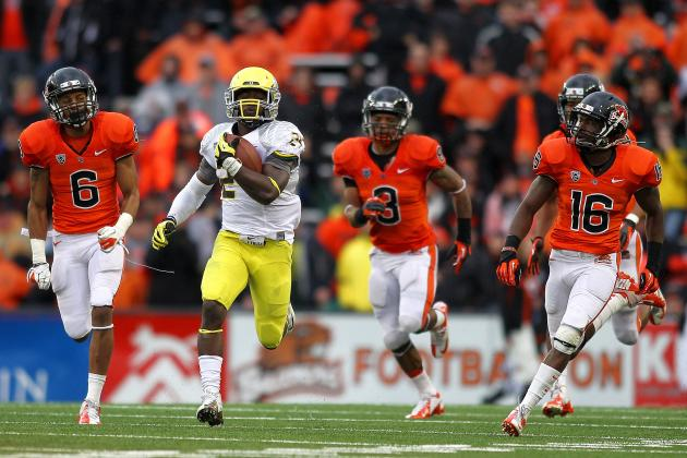 Why Mike Riley Thinks Kenjon Barner Was Robbed of the Doak Walker Award
