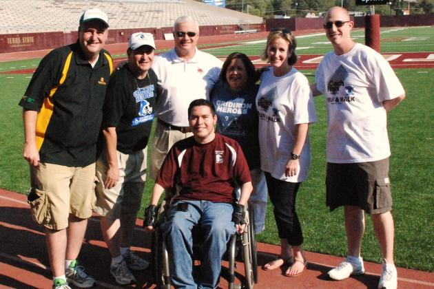 Standing Tall: Gridiron Heroes Continue Fight for Football's Fallen