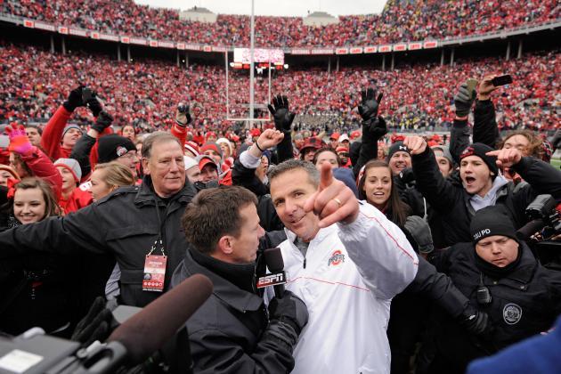 Ohio State Football: Big Recruiting Weekend on Tap as OSU Celebrates 12-0 Season