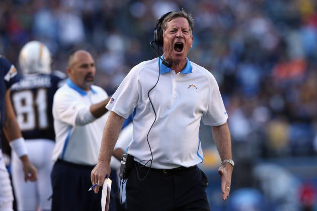 Norv Turner Must Be Fired at End of Season for Chargers to Move On