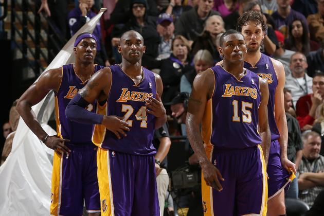Blueprint for Ideal Los Angeles Lakers Crunch-Time Rotation