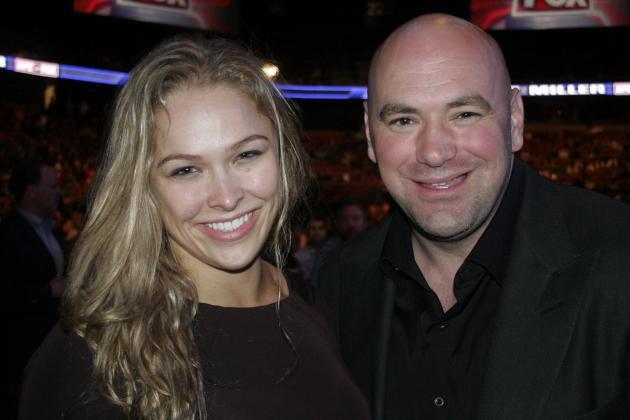 Ronda Rousey: UFC Betting Big on Its First Female Champion