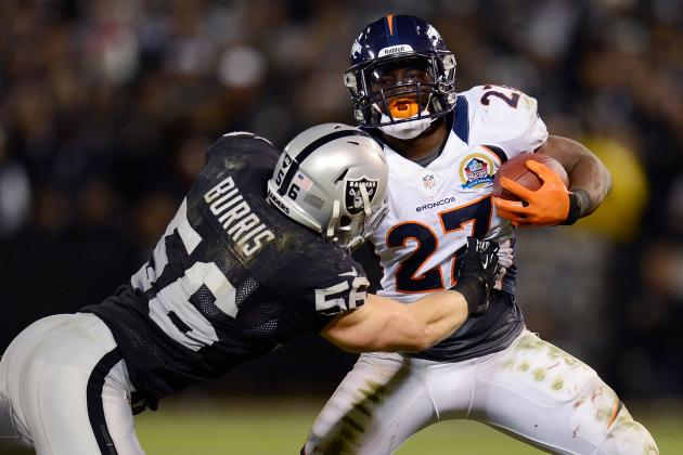 Broncos vs. Raiders: Denver Tests Its Running Game