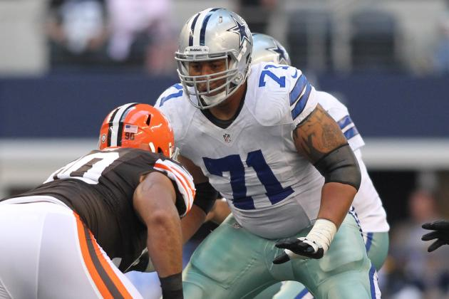 Dallas Cowboys Could Be Down Another Offensive Lineman, and More NFC East News