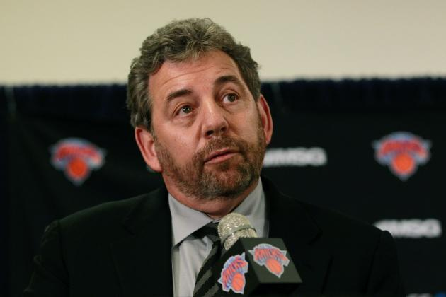 Does Jim Dolan Deserve Any Credit for Knicks' Success?