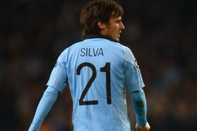 Manchester City Boss Roberto Mancini Hopes David Silva Will Be Fit for Derby