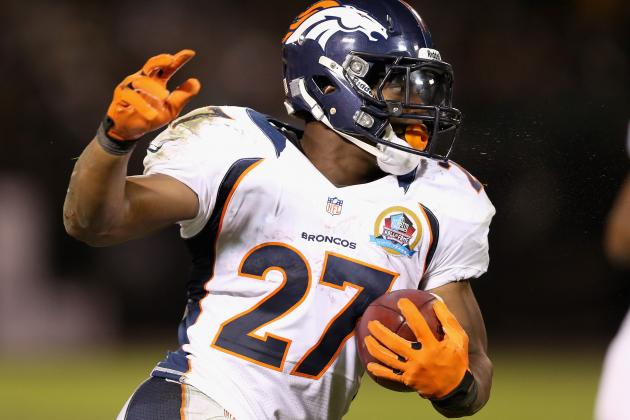 Broncos Make a Commitment to Run Game, Close out Raiders