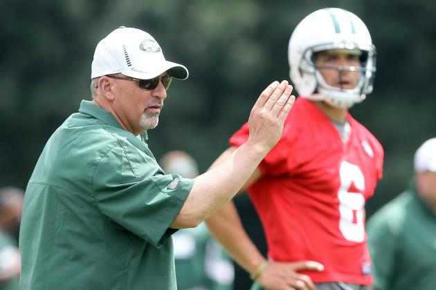 Tony Sparano on Board with Starting Mark Sanchez and Other AFC East News