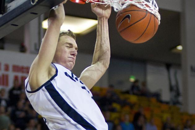 Utah State Basketball Player Danny Berger Improving