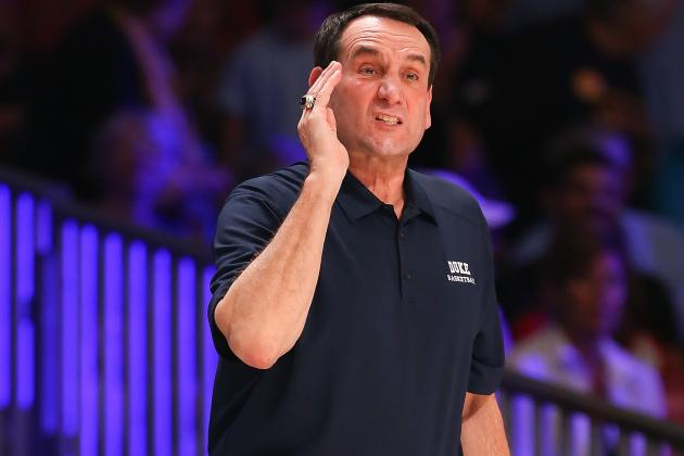 Coach K Slams Trend of Conference Realignment