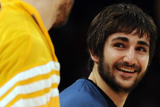 Report: Ricky Rubio Wants to Play Friday, Likely Will Next Week