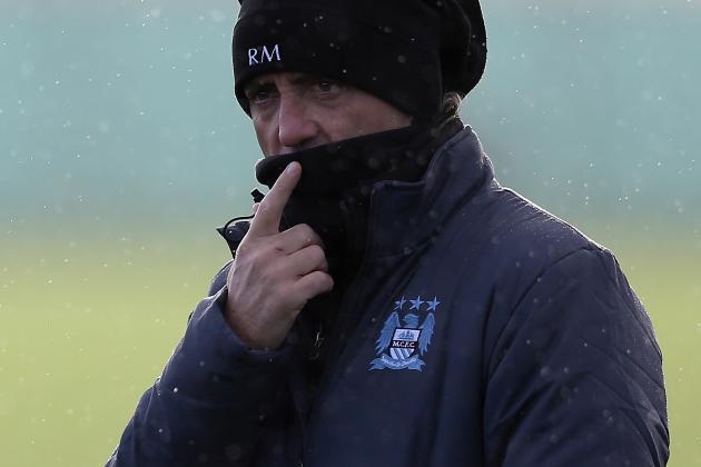 Mancini: United Are Favourites