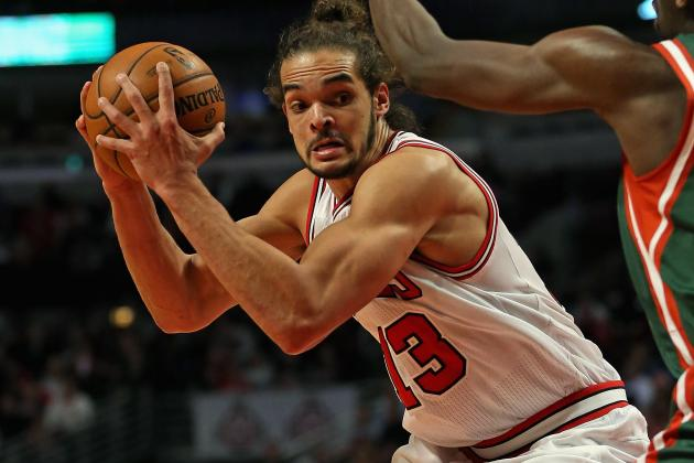 Chicago Bulls Center Joakim Noah Putting Up All-Star-Caliber Numbers