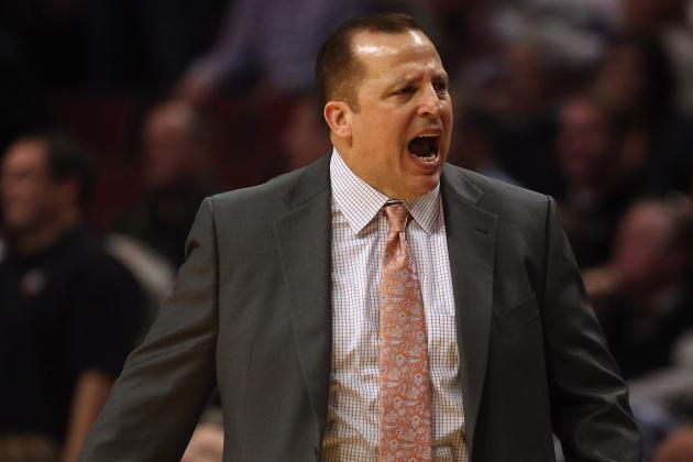 Noah, Bulls Are Listening to What Coach Thibodeau Is Screaming