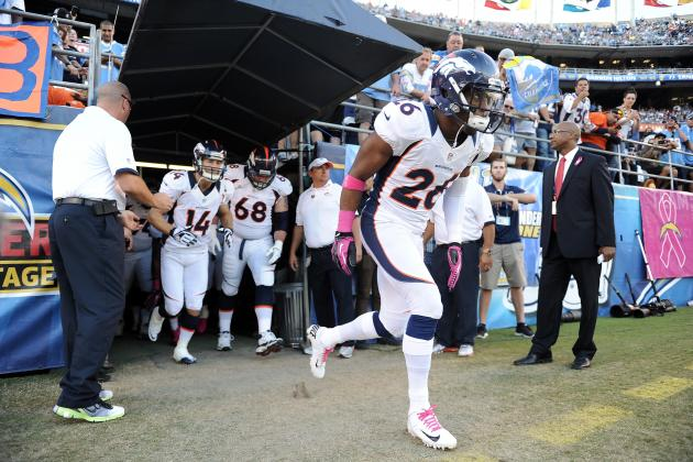 Broncos Notes: Champ Bailey Calls His Pick
