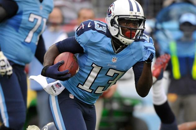 Kendall Wright Not Happy with His Drops