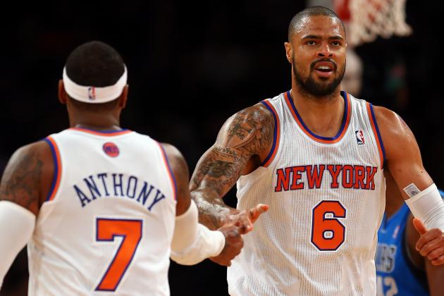 Knicks' Anthony Sits out Against Miami