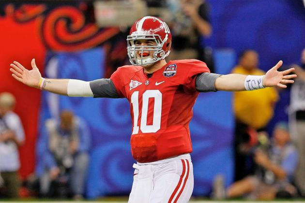 Where Will Alabama's AJ McCarron Rank Among College QBs If He Wins a 2nd Title?