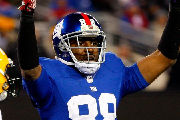 Giants' Hakeem Nicks, Ahmad Bradshaw Practicing Today