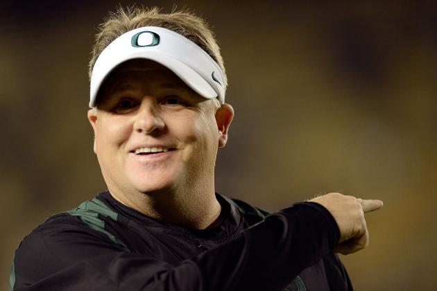 Odds 2013 Fiesta Bowl Is Chip Kelly's Final Game as Oregon Ducks' Head Coach
