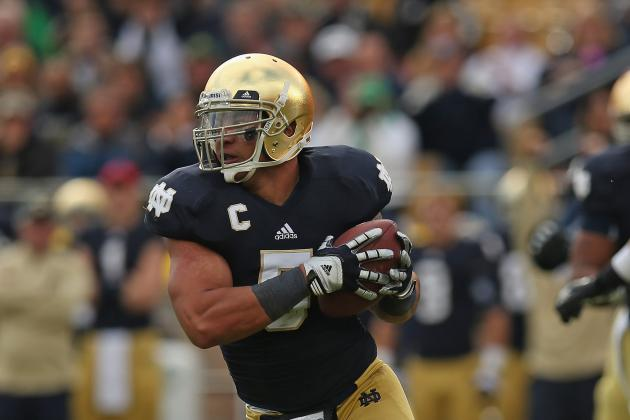 At LB, Te'o Looks to Make Heisman History