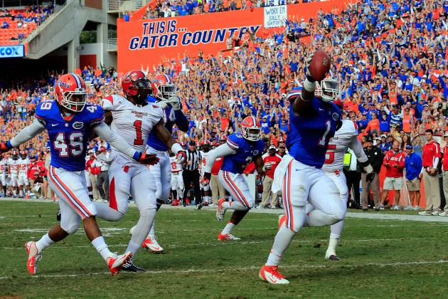 Eleven UF Football Commits Set for Official Visits